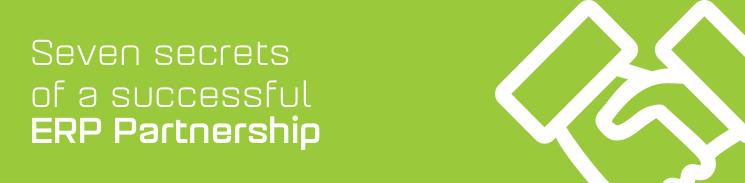 7 secrets of a successful ERP partnership